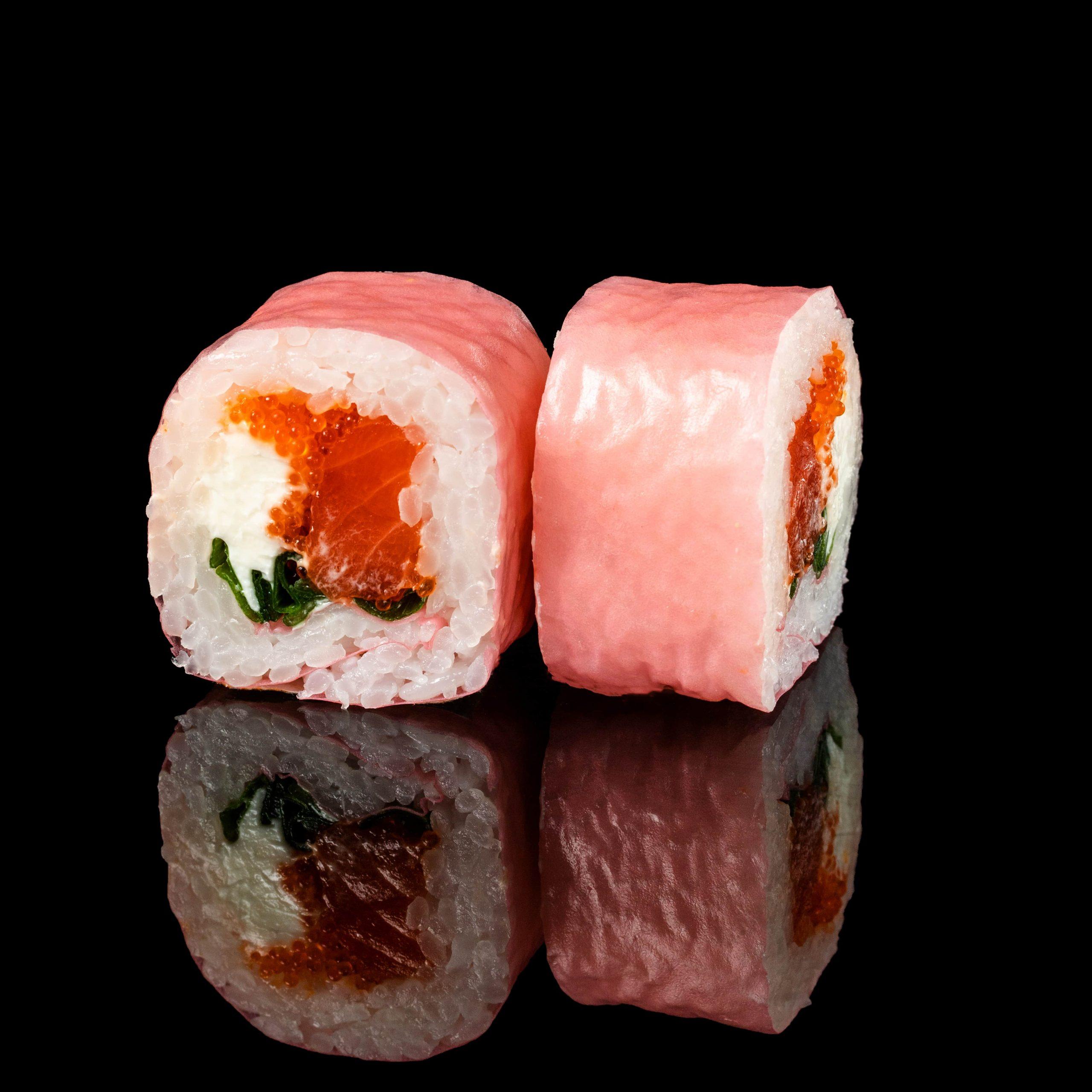 Image / Мамінорі з лососем